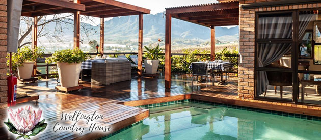 WELLINGTON COUNTRY HOUSE, CAPE WINELANDS